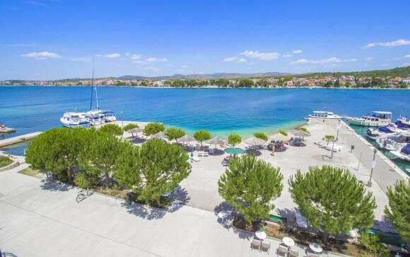 Dovolenka v Chorvátsku, ostrov Krapanj, Dalmácia
