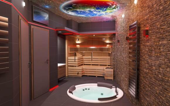 Wellness s vířivkou a saunou, Hotel Kocanda ***