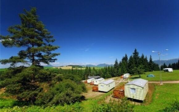 Užijte si léto v kempu Bystrina