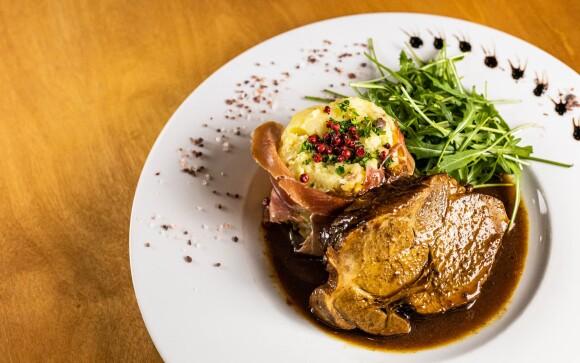 Reštaurácia, Hotel Olberg *** pri Moravskom krase