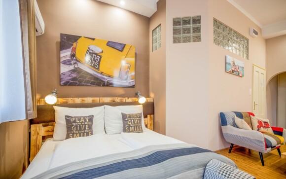 Stylový pokoj, Hotel Carpe Diem ***, Balaton, Maďarsko