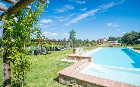 Venkovní bazén, zahrada, Cignella Wine Resort, Itálie
