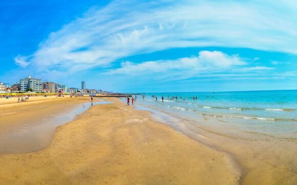 Lido di Jesolo, pláže, Jaderské more, Taliansko