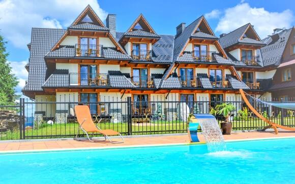Bazén, Willa Grand Karpatia, poľské Tatry