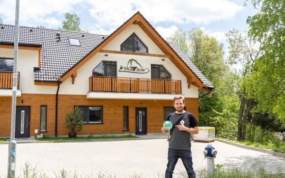 Vila Dedo *** stojí v Tatranské Lomnici, Vysoké Tatry