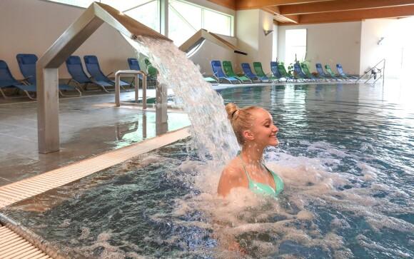Užite si wellness centrum s bazénom