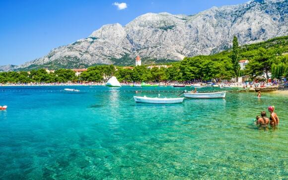 Moře, Vila Čale, Chorvatsko