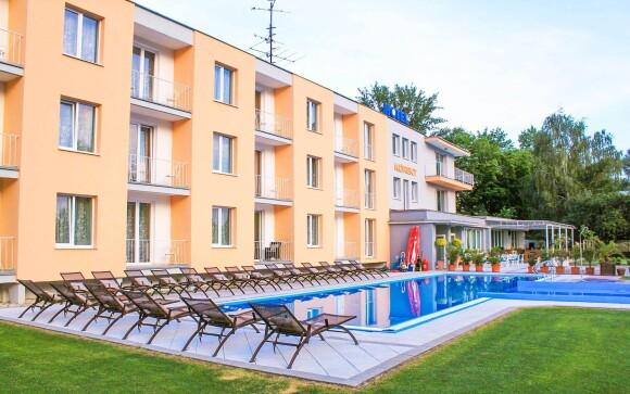V Hoteli Korekt *** si užijete vonkajší bazén