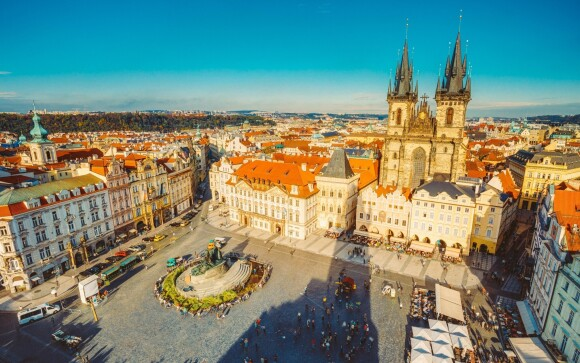 Praha je krásné město