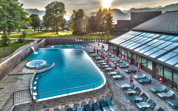 Aquapark a Wellness centrum Bohinj, Slovinsko