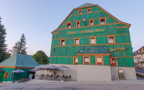 Hotel Zelený Dům ***, Krušné hory