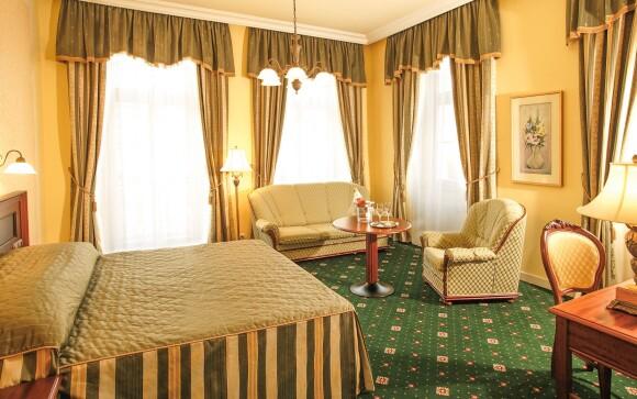 Pokoj, Humboldt Park Hotel & Spa ****, Karlovy Vary
