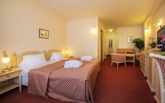 Interiéry izieb, Interhotel Central ****, Karlovy Vary