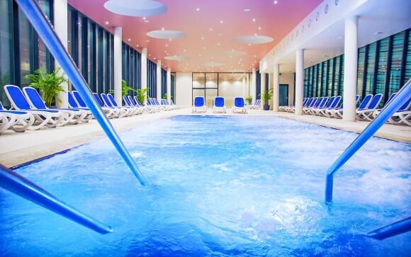 Vnútorná časť kúpeľov, Hotel Vivat ****+, Moravske Toplice