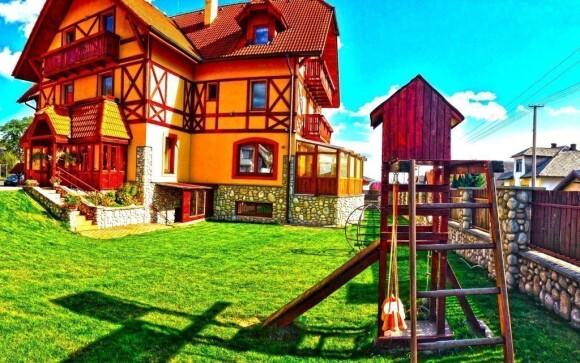 Penzion Baďo najdete v malebné vesničce Stará Lesná