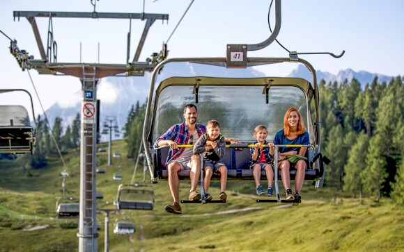 Turistika v rakúskych Alpách, Hotel Berghof *** Tauplitzalm