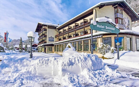 Alpensporthotel Seimler ***, Bavorské Alpy