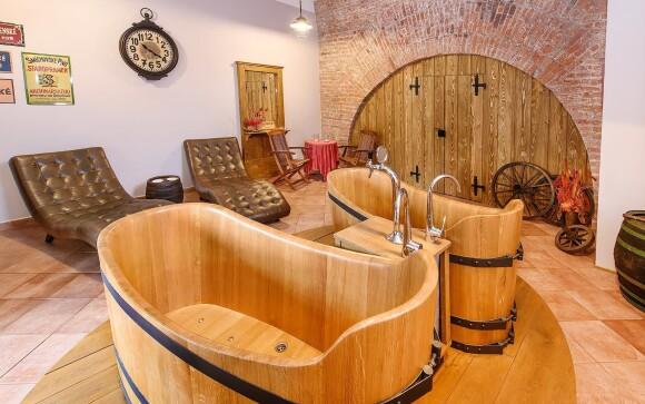Kúpele v pivovare Poděbrady s pivný kúpeľom