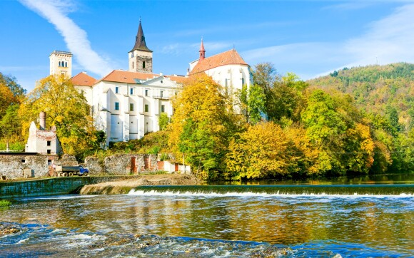 Sázavský klášter a Sázava