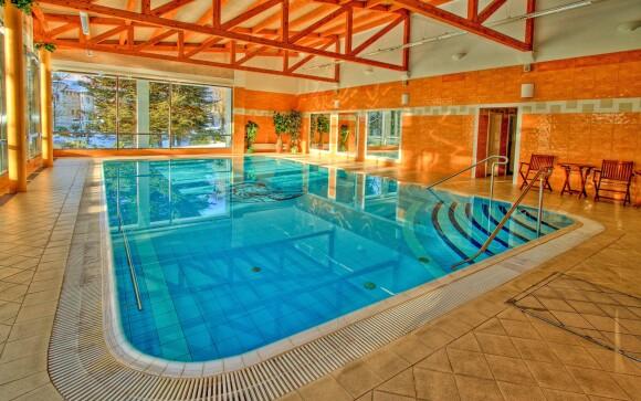 Wellness, vnitřní bazén, Hotel Krakonoš, Mariánské Lázně
