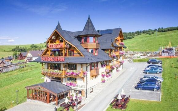 Užijte si skvělou dovolenou ve wellness penzionu Strachan***
