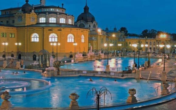 Těšte se na návštěvu oblíbených budapešťských lázní Széchenyi