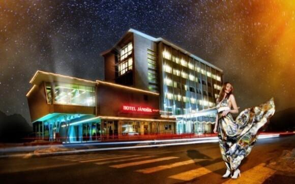Nechte se hýčkat v hotelu Jánošík**** v centru města Liptovský Mikuláš