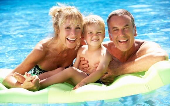 Osvěžit se hosté můžou v bazénu