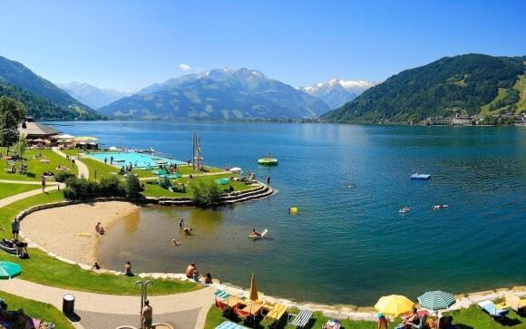 Osvěžit se můžete u jezera Zeller See