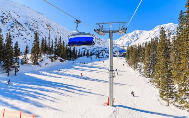 33% Vysoké Tatry: 3-5 denní pobyt pro DVA u skiareálů…