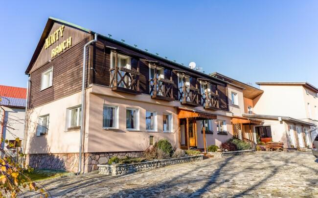 35% Vysoké Tatry: 3–5 denní pobyt pro DVA v Penzionu…