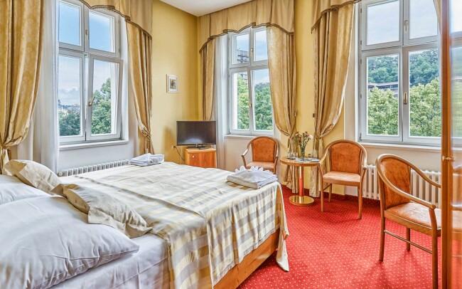 40% Karlovy Vary: 3 denní pobyt pro jednoho, až 6…