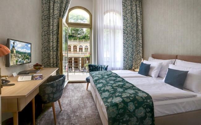 45% Karlovy Vary: 3–6 denní pobyt pro DVA v ASTORIA…