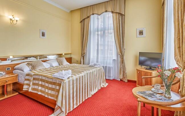 45% Karlovy Vary: 4 denní pobyt pro jednoho s 6…