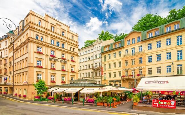 46% Karlovy Vary: 3–7 denní pobyt pro jednoho s až 5…
