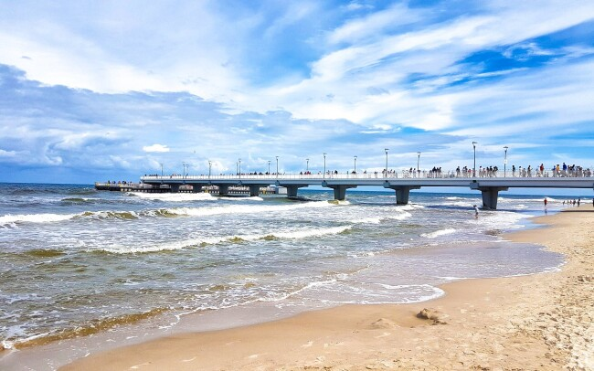 31% Polsko u Baltského moře v Kołobrzegu v Hotelu New…