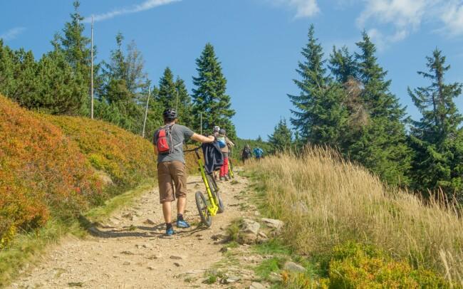 43% Krkonoše pro turisty: Pec pod Sněžkou blízko…