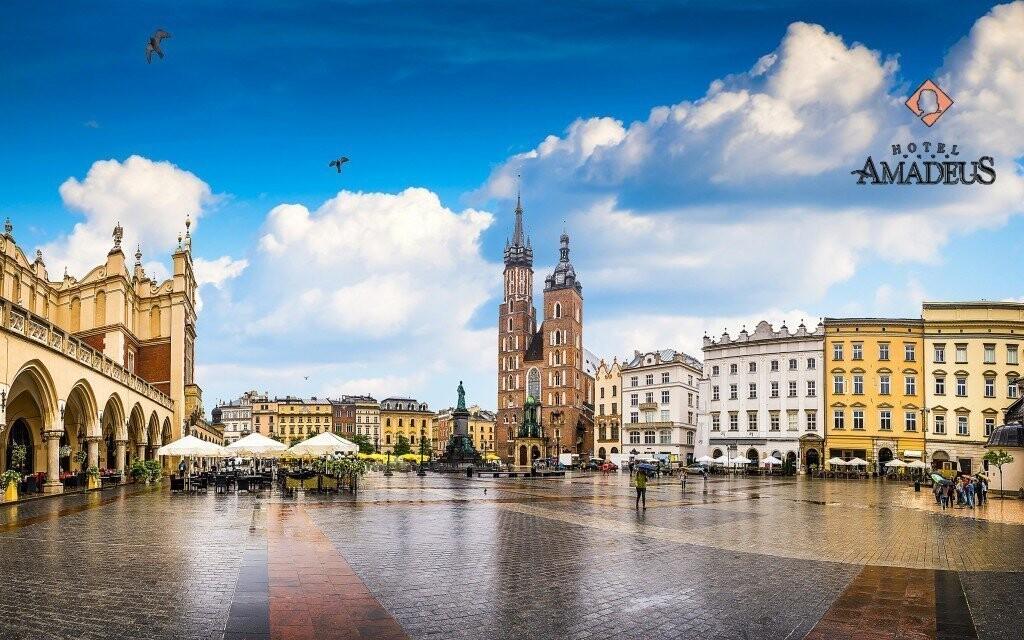 Prejdite sa historickým centrom Krakova