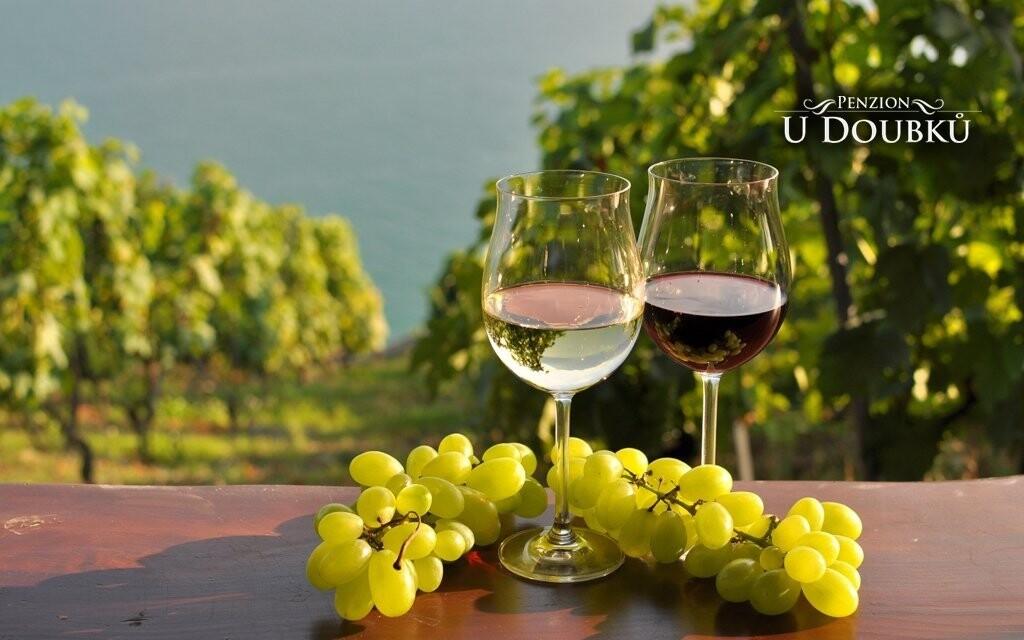 Čeká vás také degustace moravských vín a sýrů