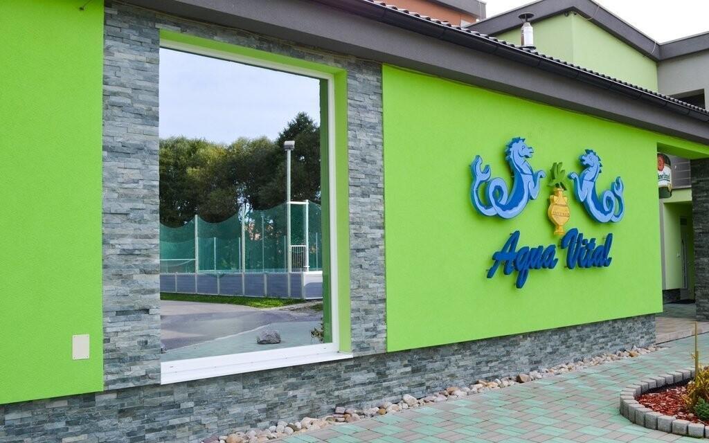 Relax Centrum Aqua Vital je k odpočinku ideální