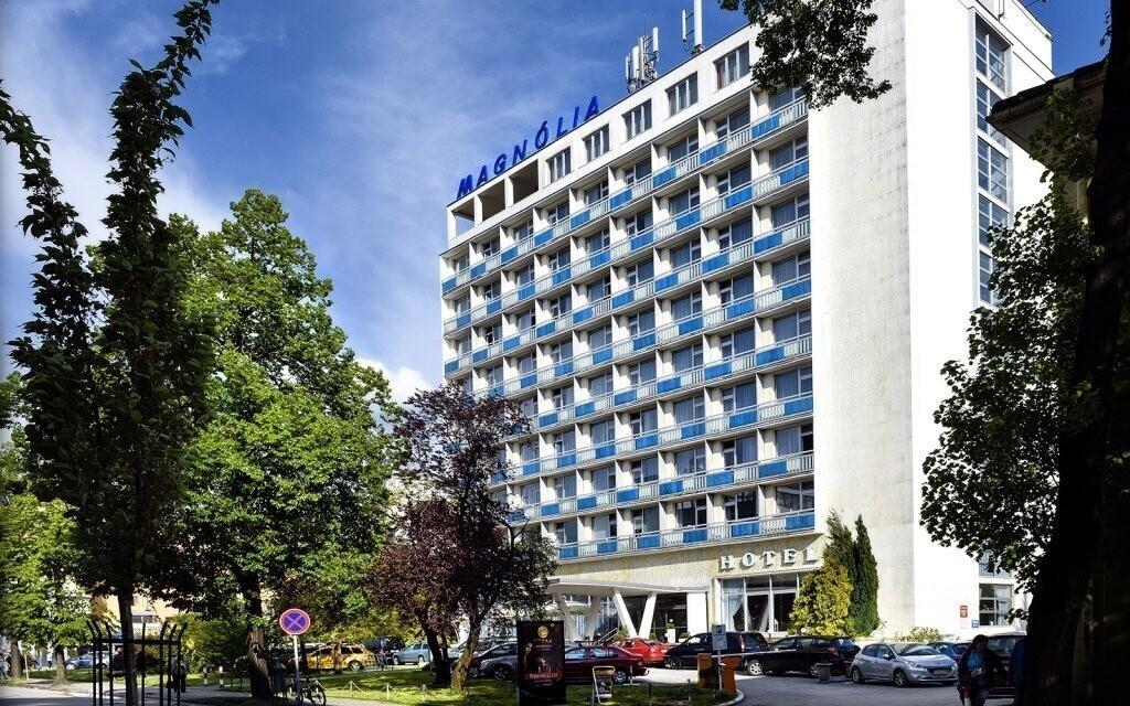 Krásné ubytování uprostřed lázeňského města