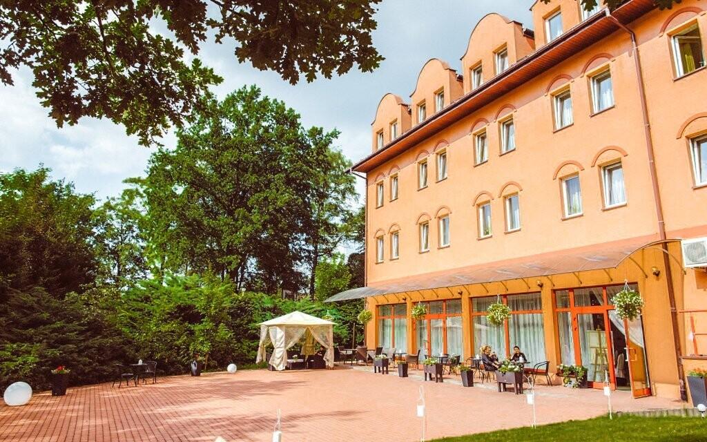 Garden Park Hotel *** stojí v městečku Wieliczka u Krakova