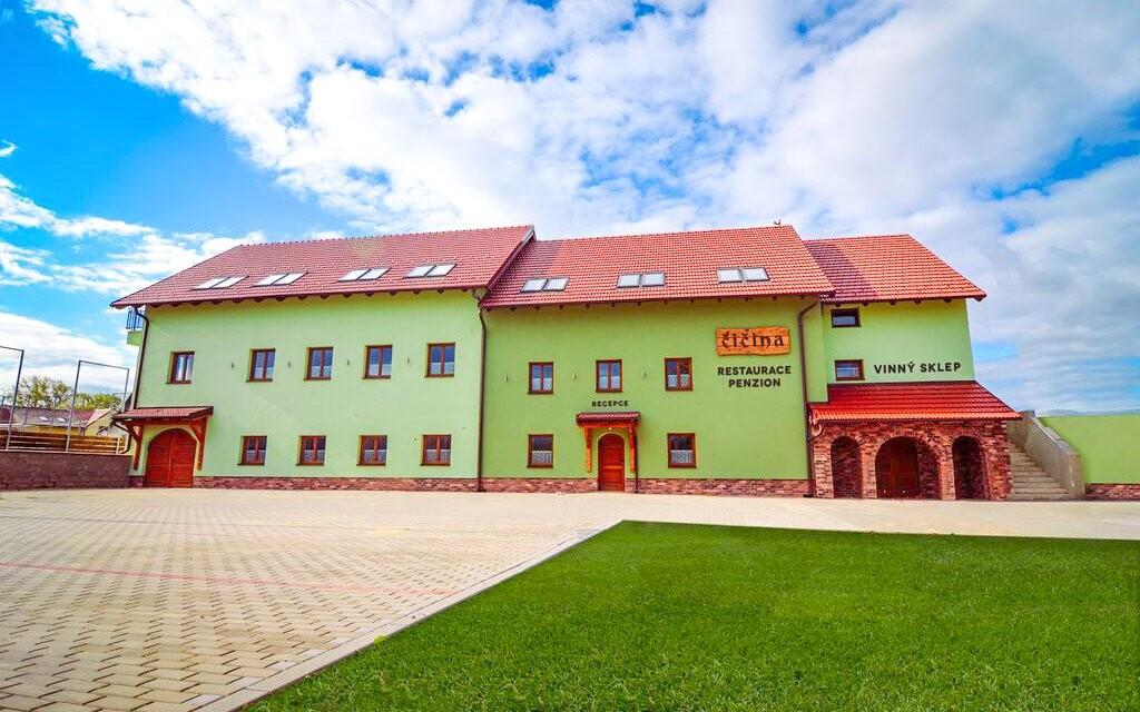 Penzion Čičina, vinařská obec Tvrdonice, jižní Morava