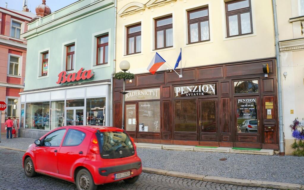 Penzión Aviatik nájdete v historickom centre Čáslavi