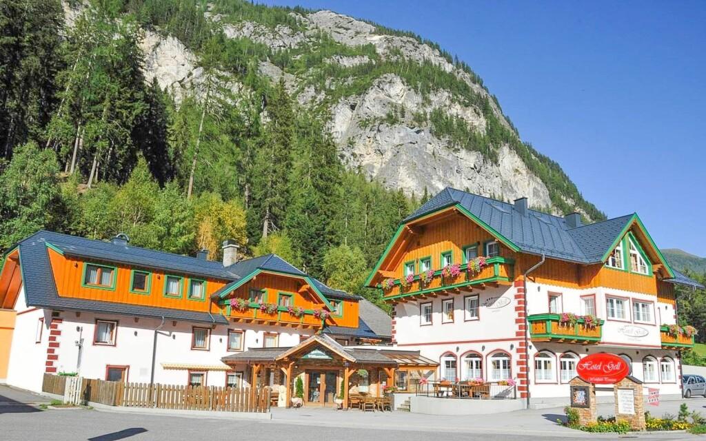Hotel Gell *** a téli Alpokban