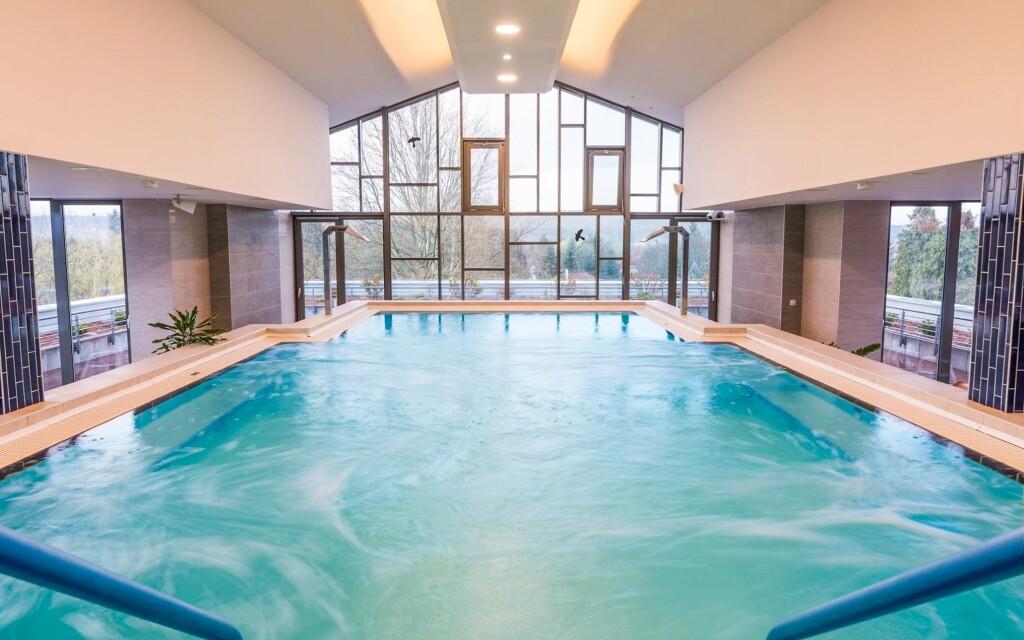V hotelovom wellness si užijete bazény i sauny