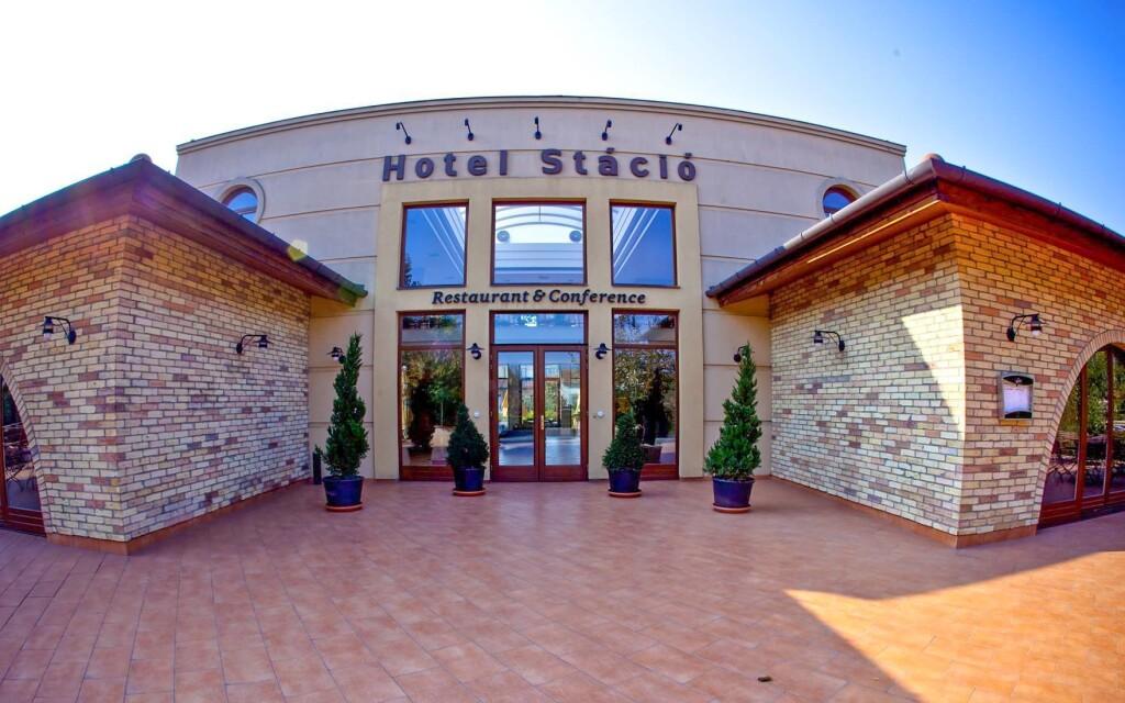 Hotel Stácio má obrovské wellness a skvělou polohu