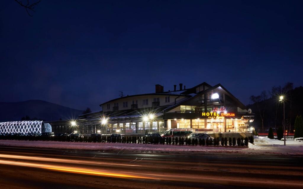 Wellness Hotel Eroplán ****, Rožnov pod Radhoštěm, Beskydy