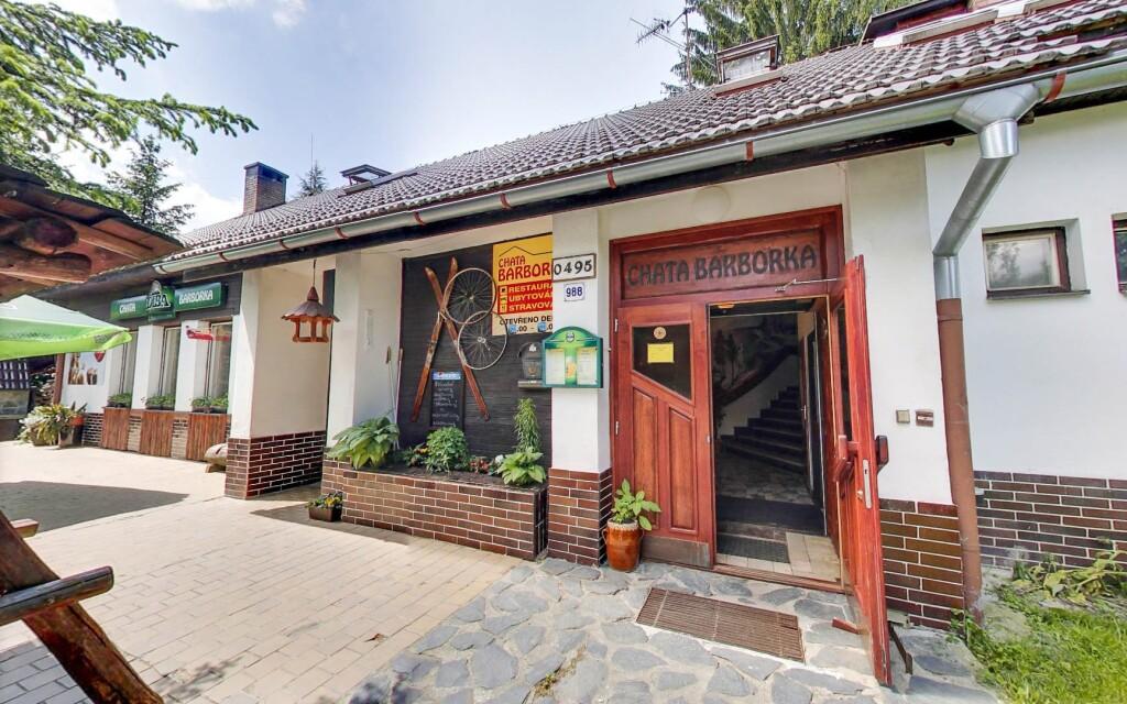 Chata Barborka leží v Horní Bečvě