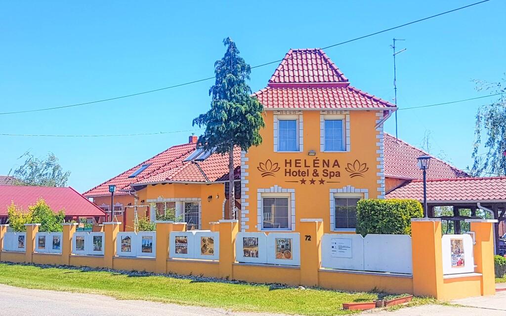 Heléna Hotel & Spa ***leží blízko termálů, Lével